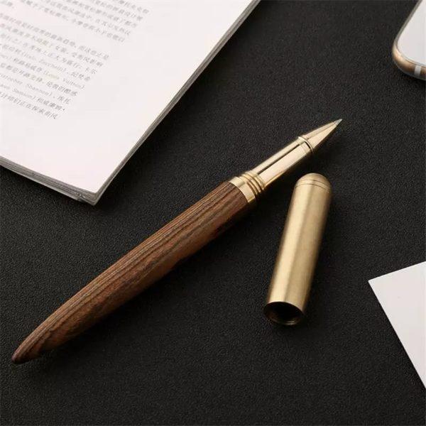 Ручка из дерева и металла